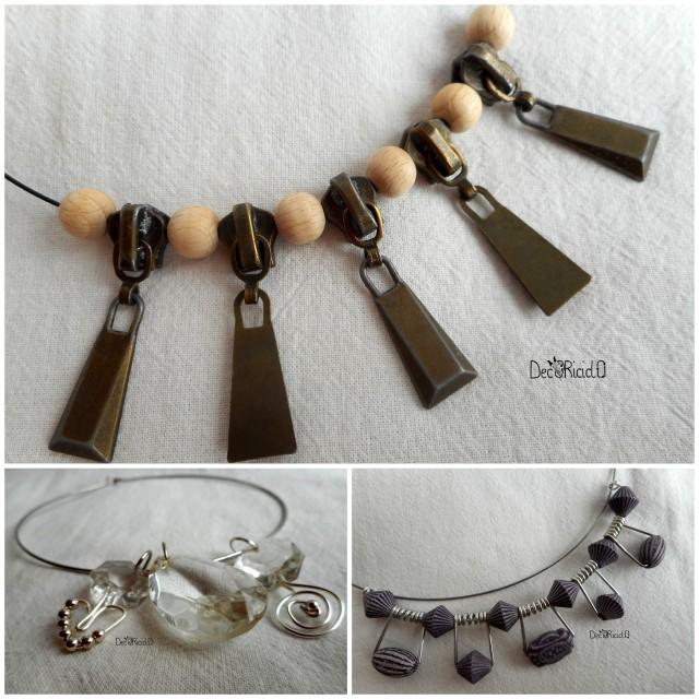 Amato decoriciclo: Tre gioielli di riciclo GR09