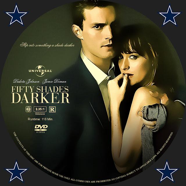 Fifty Shades Of Darker DVD Label