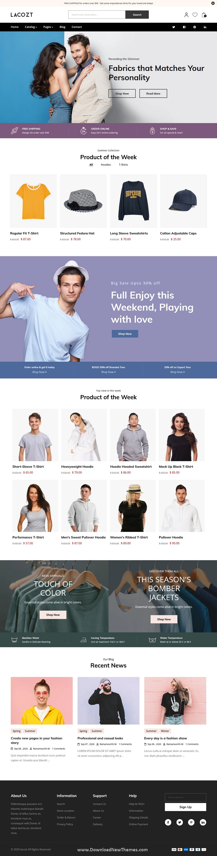 Multipurpose Clothing and Fashion Store Shopify Theme