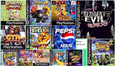 download Kumpulan Game PS1/PSX(ISO,BIN,PBP) Lengkap Untuk Android dan PC