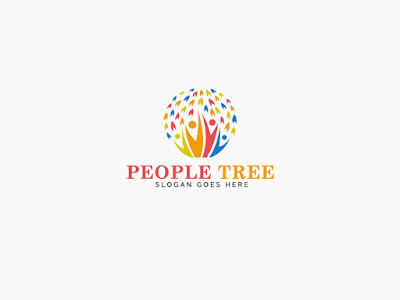 People Tree Logo PNG and PSD Free