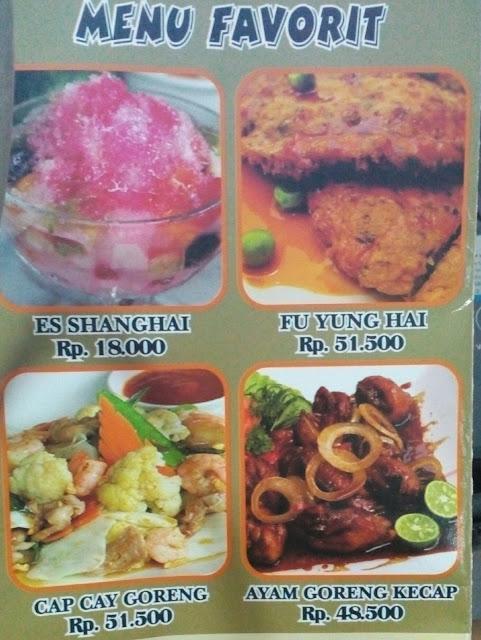 menu favorit restoran 499 bandung