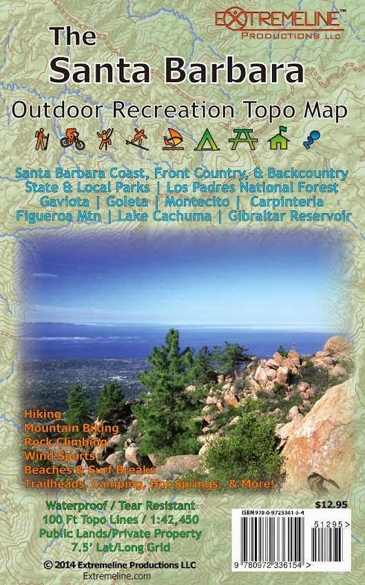 New Maps Out! Santa Barbara & Kern River Sierra