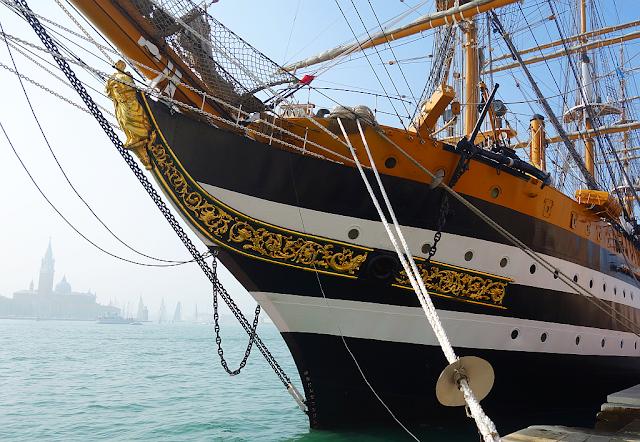 Pojďte na palubu! Nejkrásnější loď světa v Benátkách, amerigo vespucci