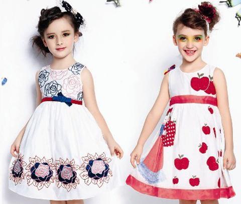 pakaian pesta anak perempuan