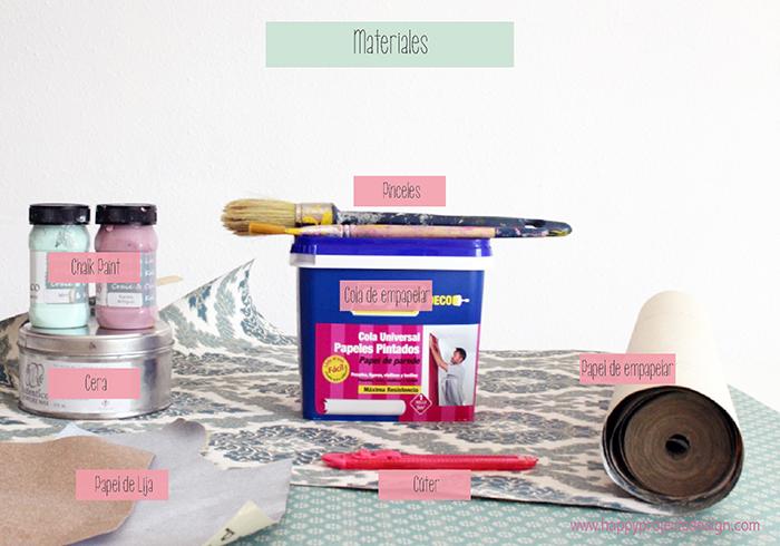 Chalk Paint: mesilla de noche decapada