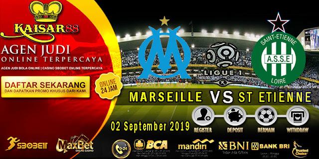 Prediksi Bola Terpercaya Liga Prancis 1 Marseille vs Saint Etienne 2 September 2019