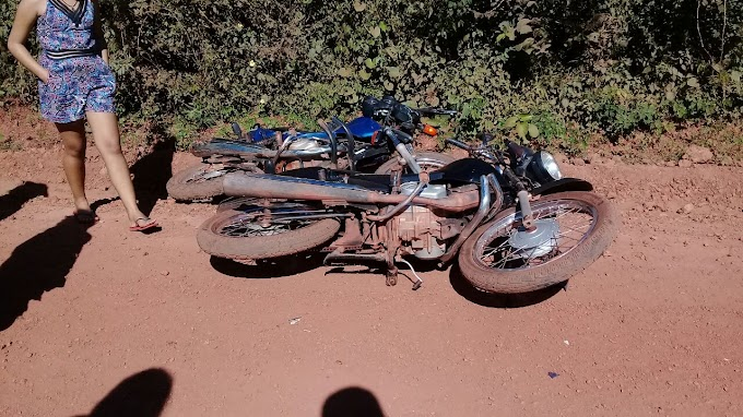 Imprudência provoca acidente com vitima fatal em Caraíbas