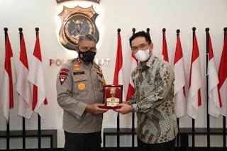 Polda Sumut Jalin Kerjasama dengan PTPN II