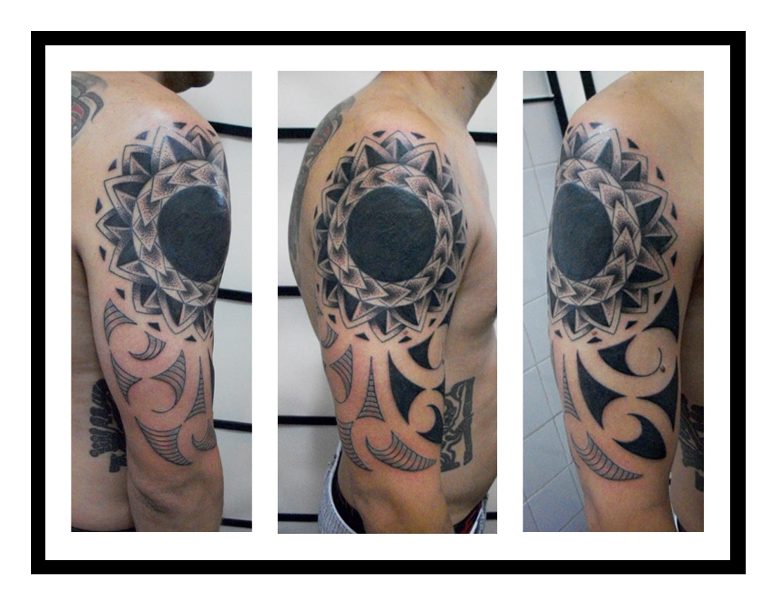 Maori Tattoo Cover Up: Buenos Aires: MAORI TATTOO (Cover Up