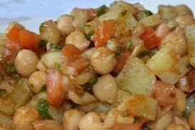 aloo chana chaat recipe in urdu