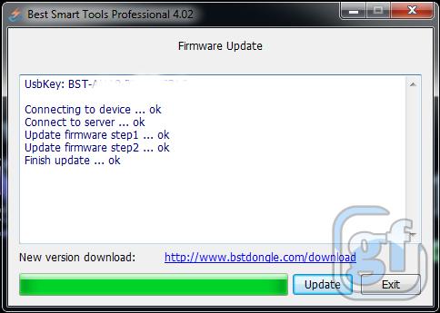 BSTPro 4.02 Update Firmware