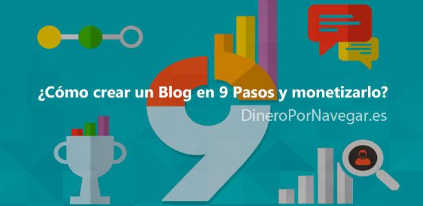 Crear un Blog en 9 pasos para monetizarlo