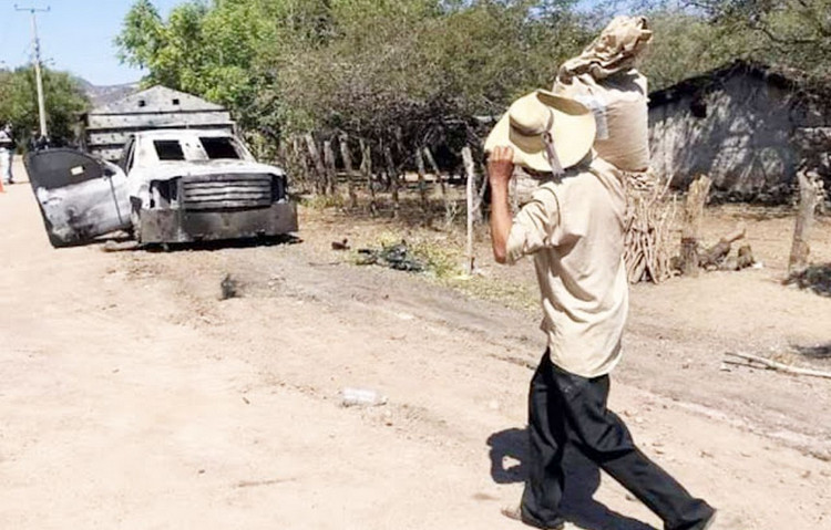 El infierno que viven pobladores de Zirándano, Guerrero : La guerra entre CJNG y Familia Michoacana vacía comunidades