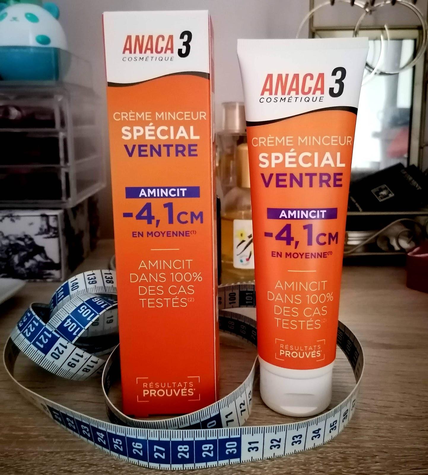 CONCOURS ANACA3 : Essayer le nouvelle crème minceur spécial ventre!