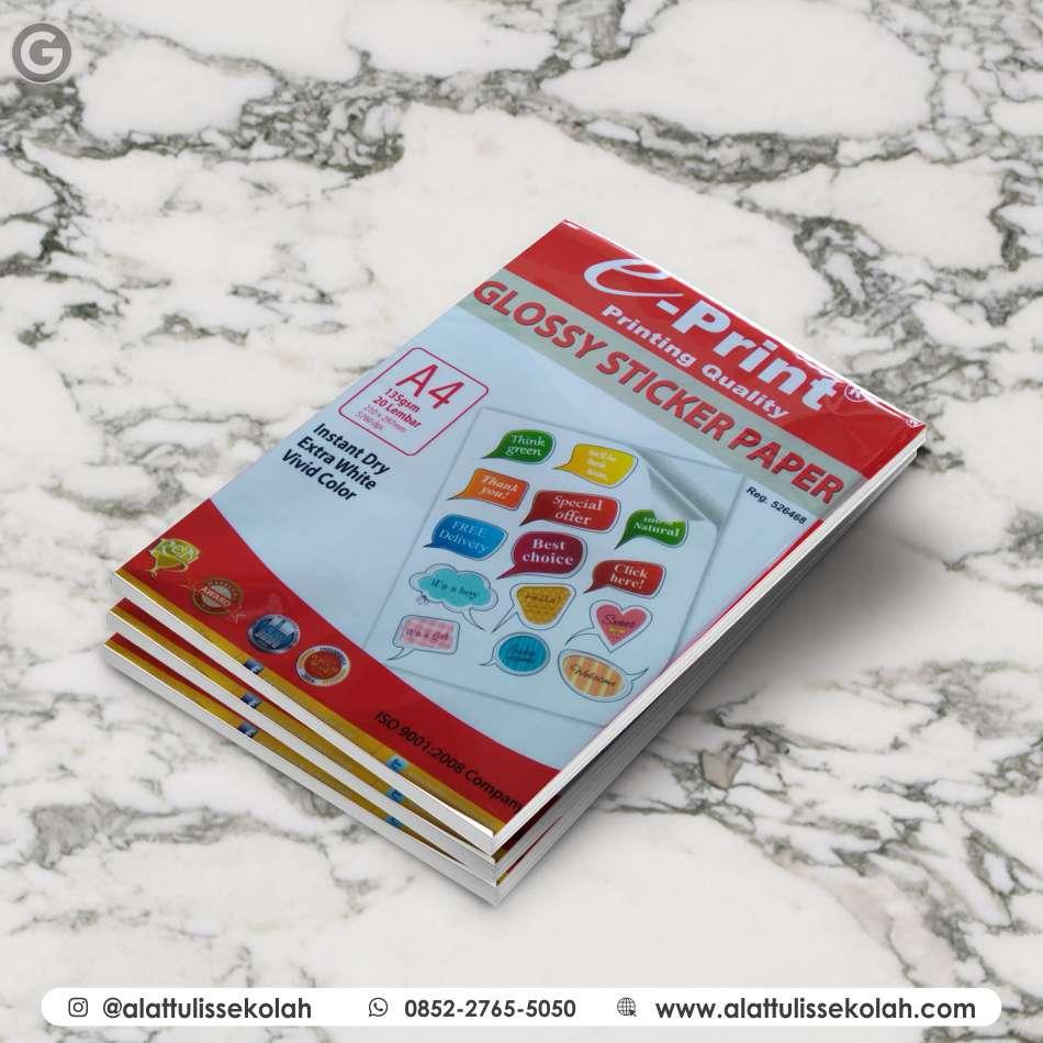 Jenis Kertas Stiker Tahan Air | 0852-2765-5050