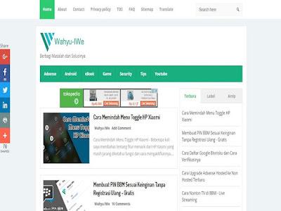 Wahyu Iwe Blog