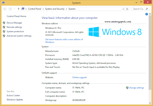 Cara Melihat Spesifikasi Laptop di Windows