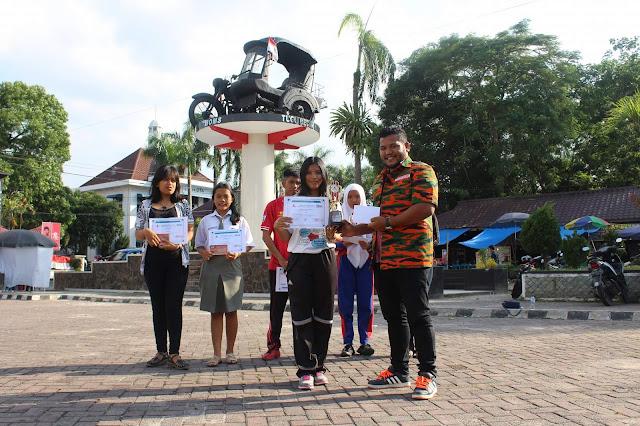 Didepan Balai Kota dan Tugu Becak, Ini Foto Pemenang Karya Tulis MPI dan LINTAS PUBLIK Online
