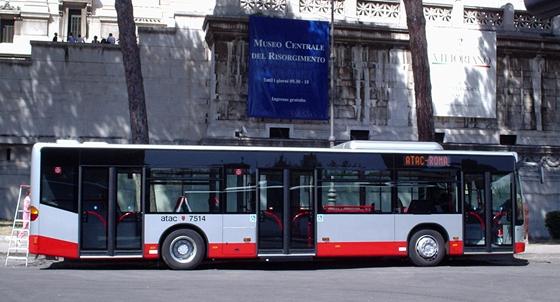 Cómo funcionan los autobuses en Roma