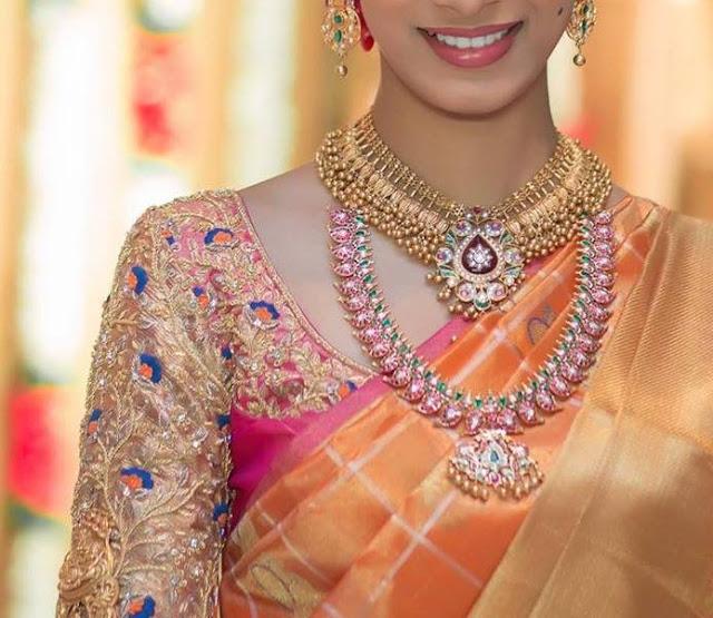 819b5a14f4e Amazing Wedding saree blouse designs   patterns