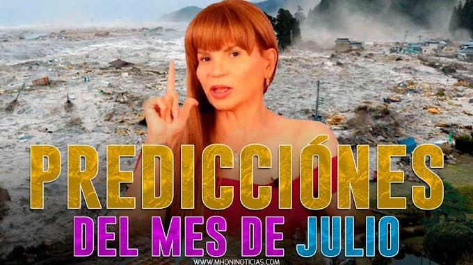 """Mhoni Vidente presagia """"oscuro mes de julio""""; terremoto de 9 y fuerte tsunami"""
