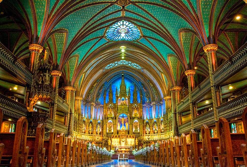Notre Dame Basilica The Magnificent Neo Gothic Church