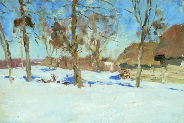 Исаак Ильич Левитан - В начале марта. 1900