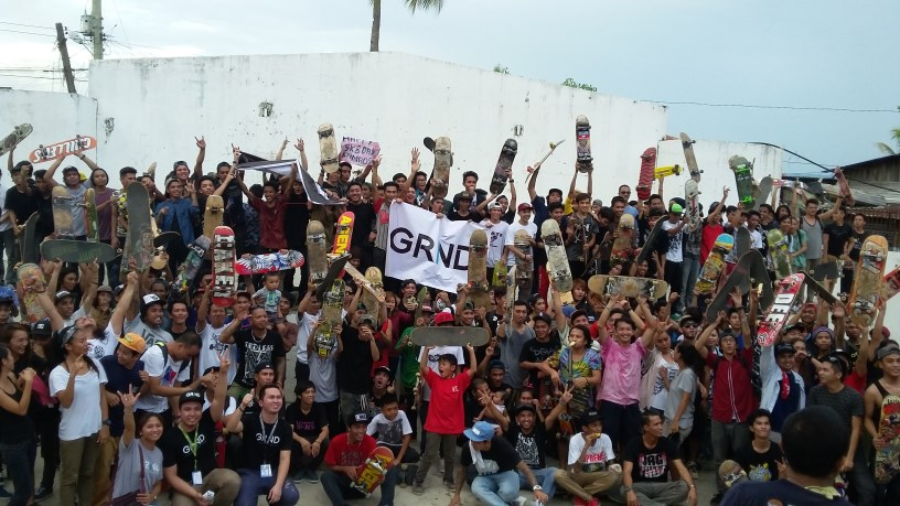GRIND supports Go Skate Day Davao