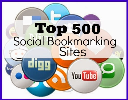 Danh sách 500 Social Bookmarking Sites to build Do-follow backlink