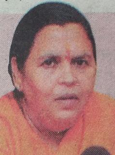 उमा भारती ने यूपी पुलिस को दी बधाई, शिवराज सिंह चौहान और नरोत्तम मिश्रा पर दागे सवाल
