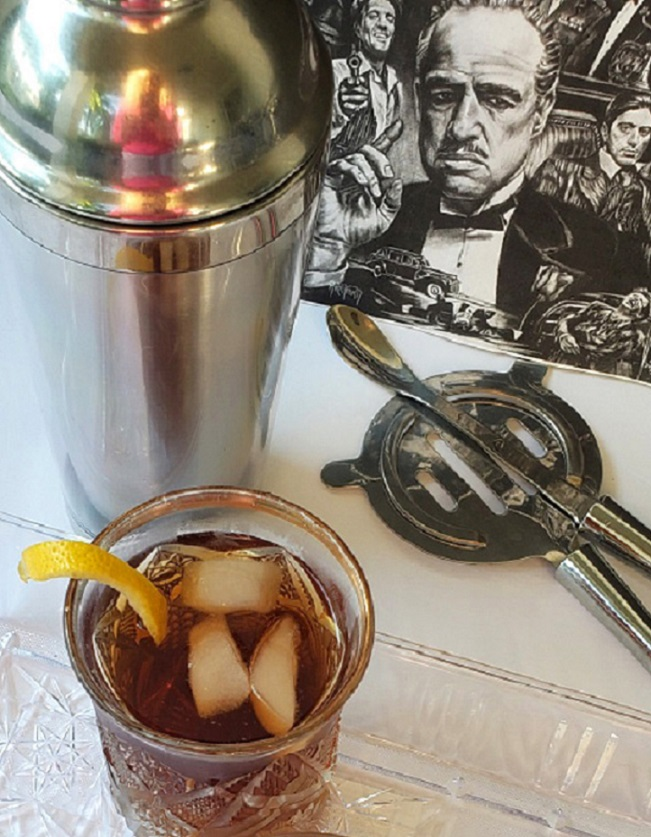 a drink from the 1970s called Godfather