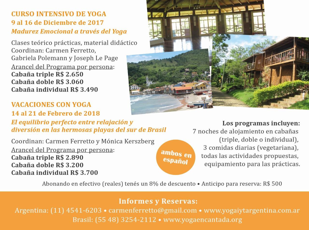 Carmen Ferretto  carmenferretto gmail.com 4541-6203. Publicado por Yoga  Dinamico ... 0350907afd76