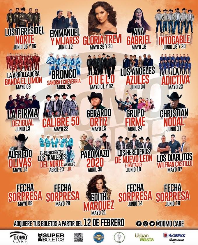 Expo Feria Guadalupe 2020 Artistas Palenque Domo Care