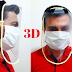 Evde SİPERLİ MASKE YAPIMI- | Maske nasıl yapılır? 3D maske - VİDEO