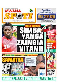 Magazeti Ya Leo JUMATATU - Tanzania Today Newspaper 20 May,2019