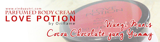 Parfumed Body Cream Love Potion by Oriflame Review