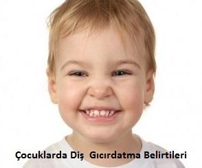 Çocuklarda Diş  Gıcırdatma Belirtileri
