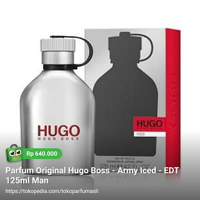 hugo boss army iced edt 125ml man