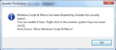 Windows Script Host Terblokir Oleh Smadav