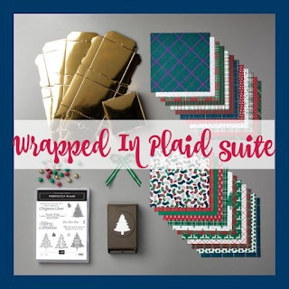Stampin' Up!'s Wrapped In Plaid suite