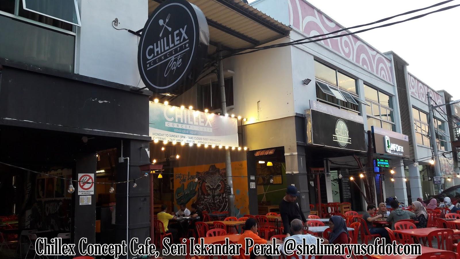 Masakan Western Chillex Concept Cafe Seri Iskandar Perak Masyuk Ke Tak Masyukk?