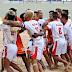 Fundación Monagas entre los 4 mejores equipos de fútbol playa del continente.