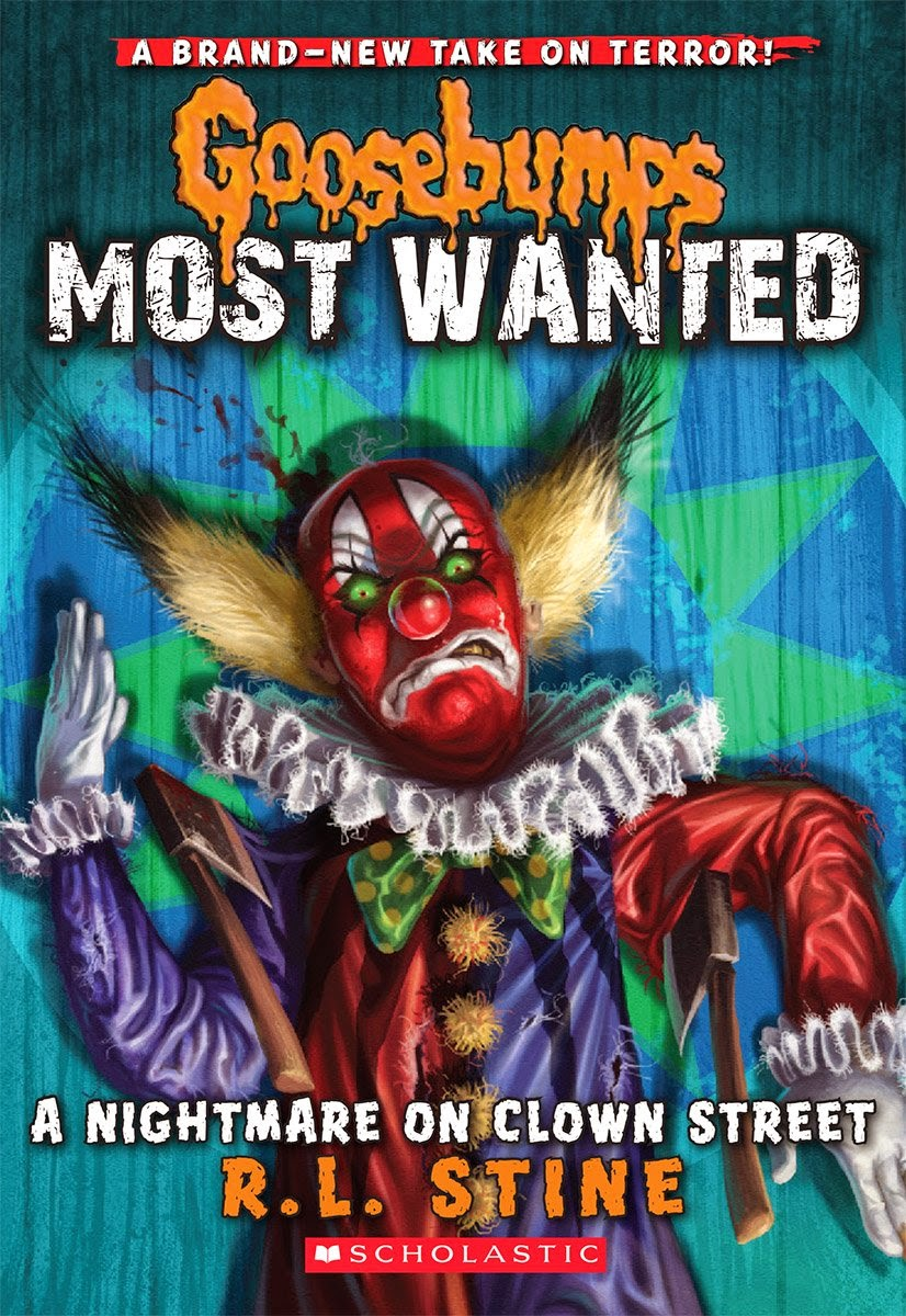Review - Goosebumps Most Wanted: A Nightmare On Clown Street