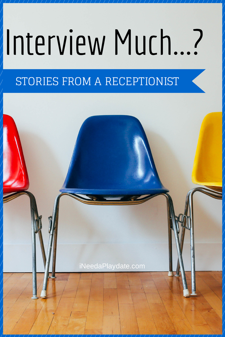 Job hunting and interview tips from receptionist