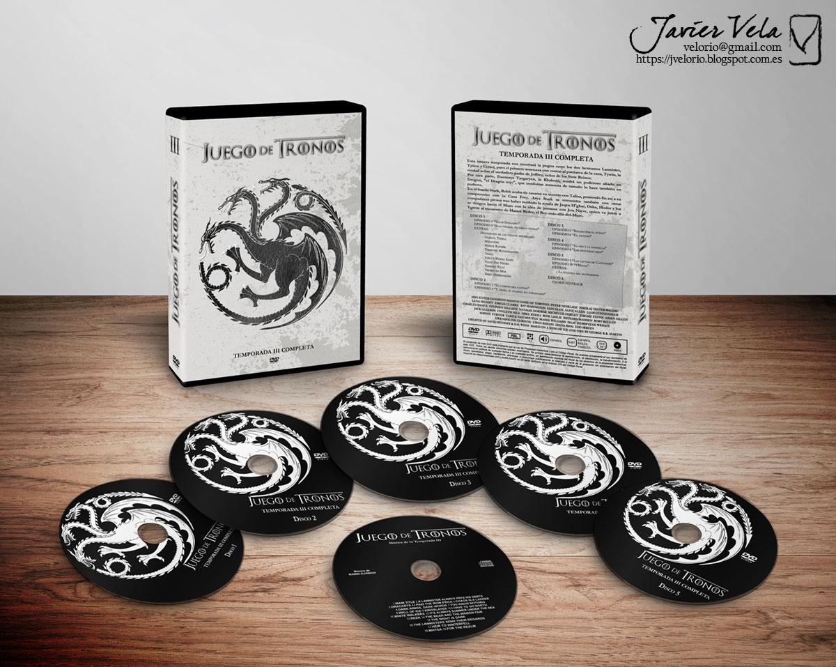 Game of thrones temporada 3 caratulas