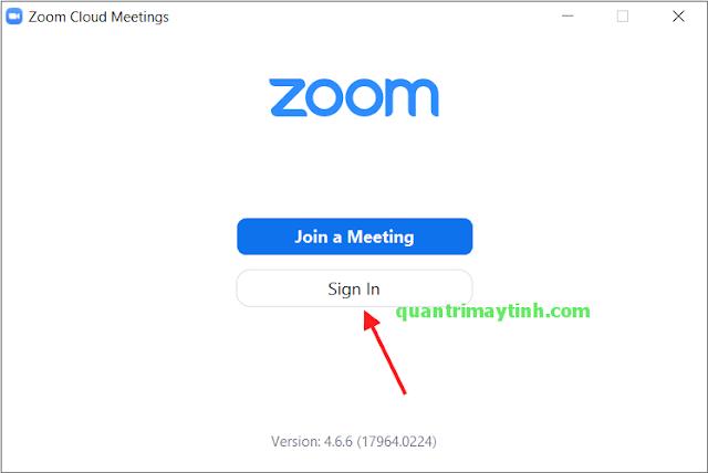 Hướng dẫn tạo phòng họp, phòng học trực tuyến trên Zoom Cloud Meetings