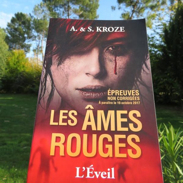 Les âmes rouges, tome 1 : L'éveil de Alicia Kroze et Sarah Kroze