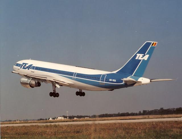 TEA Airbus A300 - Yıl 1990