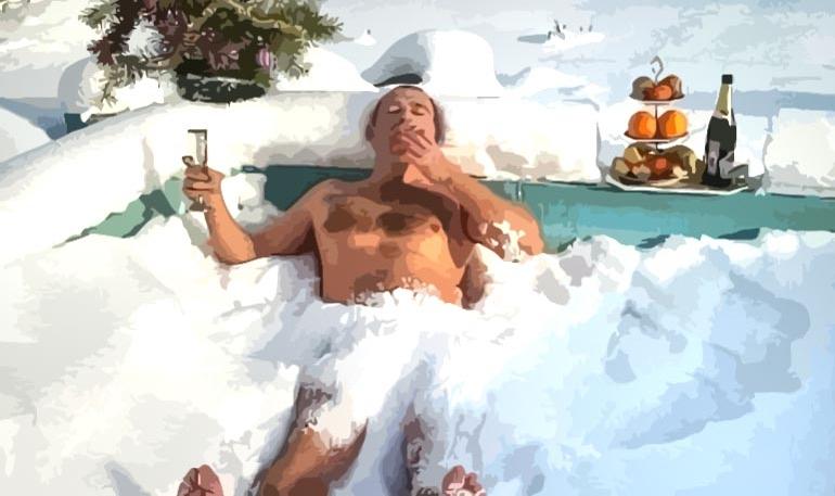 Прикольные картинки про отпуск зимой